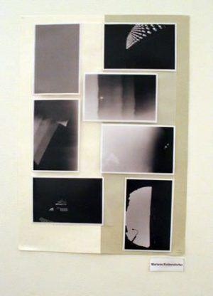 Marlene Rutzendorfer, Installationsfoto: Alexandra Matzner.