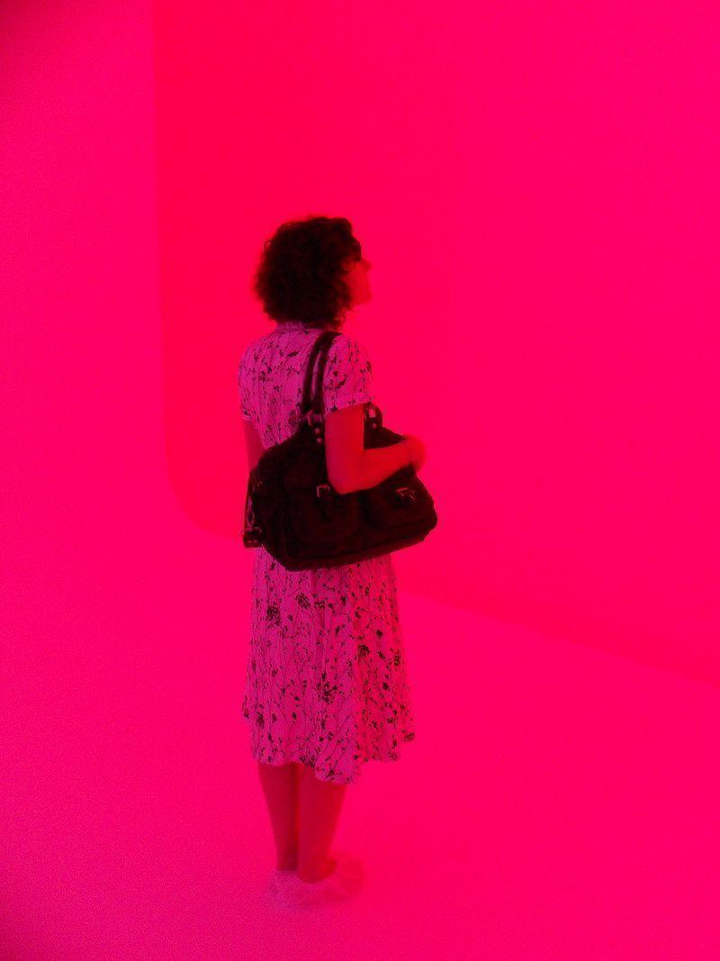 James Turrell, Installationsansicht (rosa), Biennale von Venedig 2011, Foto: Alexandra Matzner.