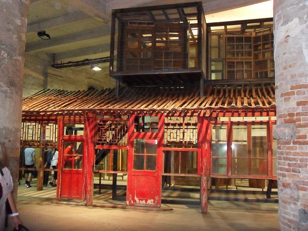 Song Dong's Para-Pavilion, 2011, Mixed technique, Installationsansicht Biennale von Venedig 2011, Foto: Alexandra Matzner.