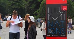 Eingang der Giardini, Biennale 2011; Foto: Alexandra Matzner