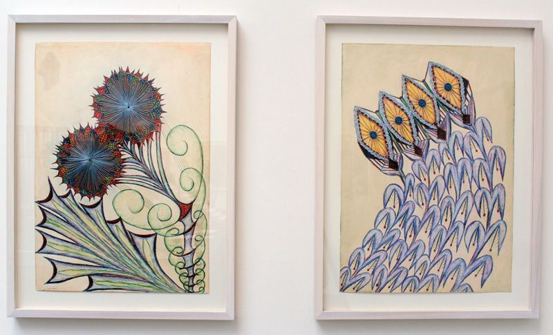 Anna Zemánková (1908-1986), Biennale von Venedig, Installationsfoto: Alexandra Matzner.