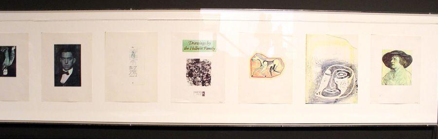 Carl Andre, Passport, Detail (Goethe), 1960, Installationsfoto: Alexandra Matzner.