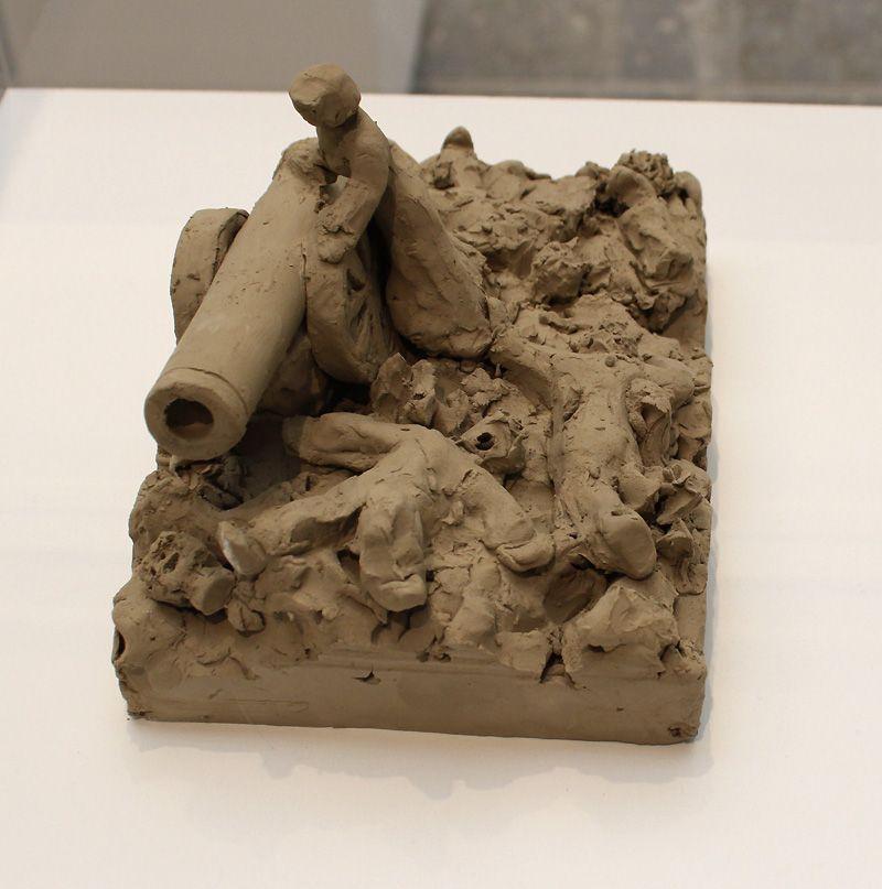 Peter Fischli/David Weiss (* 1952/1946-2012), Plötzlich diese Übersicht/Suddenly This Overview, 1981-2012, Desastres de la guerra, Installationsfoto: Alexandra Matzner.