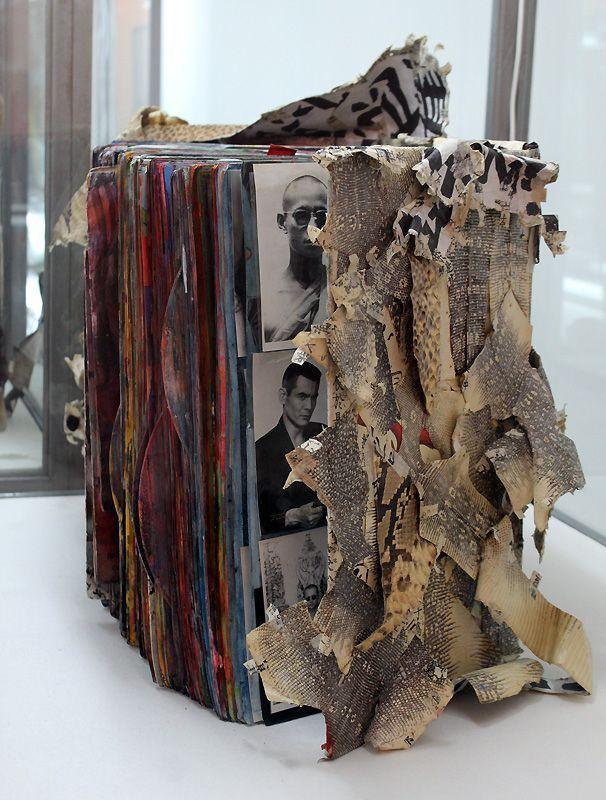 Shinro Ohtake, Scrapbooks, ab 1977, Biennale, Foto: Alexandra Matzner.