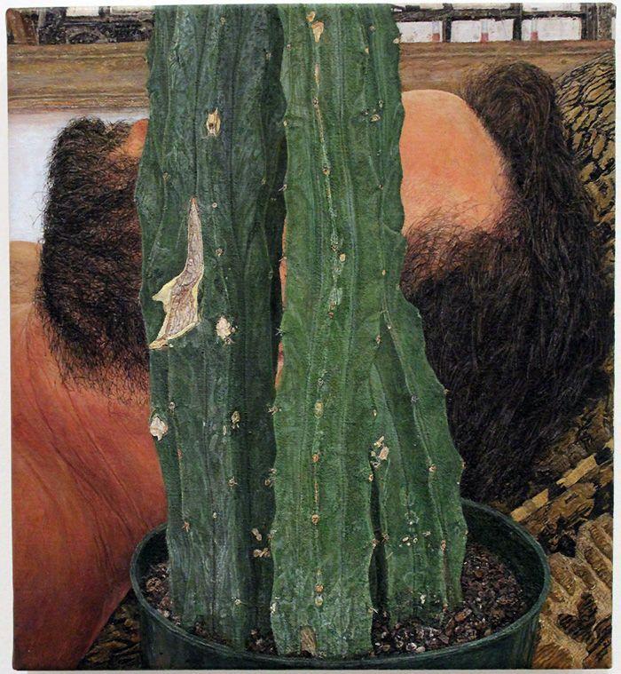 Ellen Altfest (* 1970), Head and Plant, 2010, Installationsfoto: Alexandra Matzner.