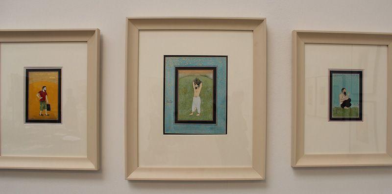 Imran Qureshi (* 1972), Moderate Enlightenment, 2006-2009, Installationsfoto: Alexandra Matzner.