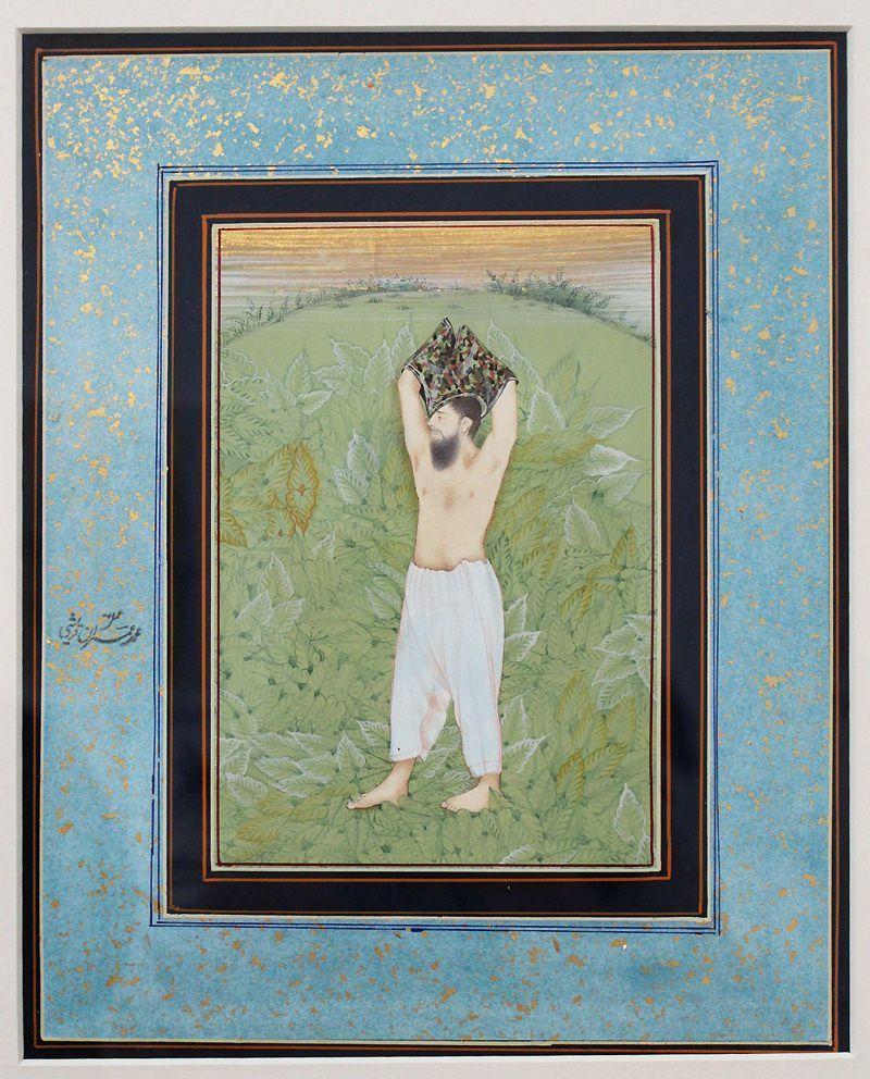 Imran Qureshi, Moderate Enlightenment, 2006-2009, Installationsfoto: Alexandra Matzner.
