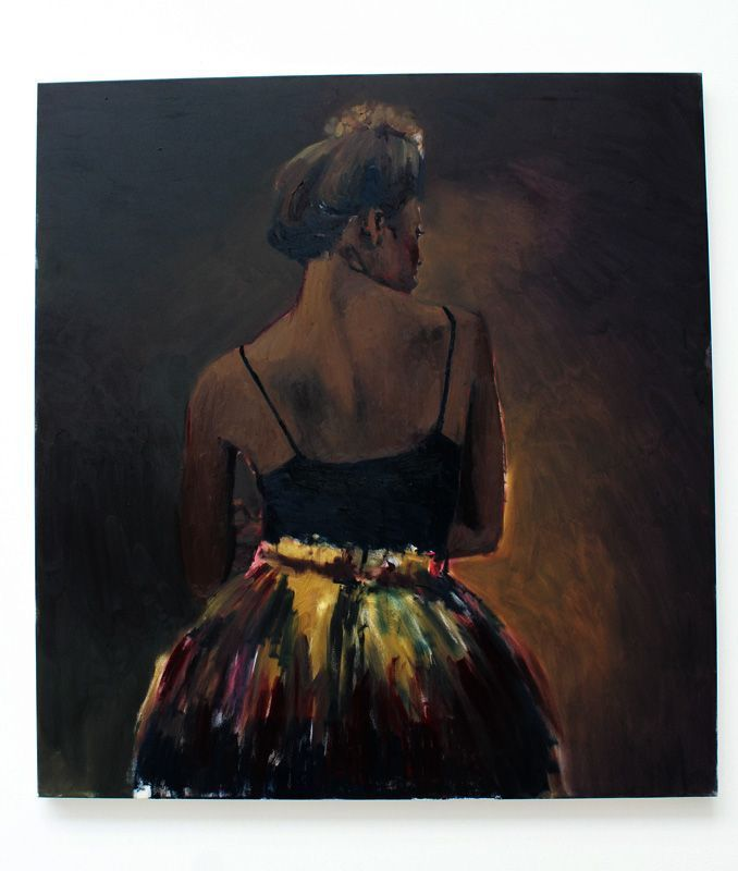 Lynette Yiadom-Boakye, Biennale, Installationsfoto: Alexandra Matzner.