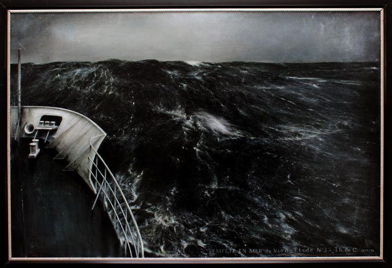 Thierry De Cordier (* 1954), MER HAUTE, Installationsfoto: Alexandra Matzner.
