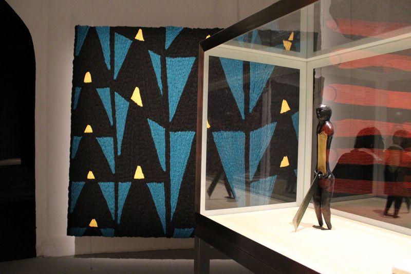 Enrico David, Biennale, Installationsfoto: Alexandra Matzner.