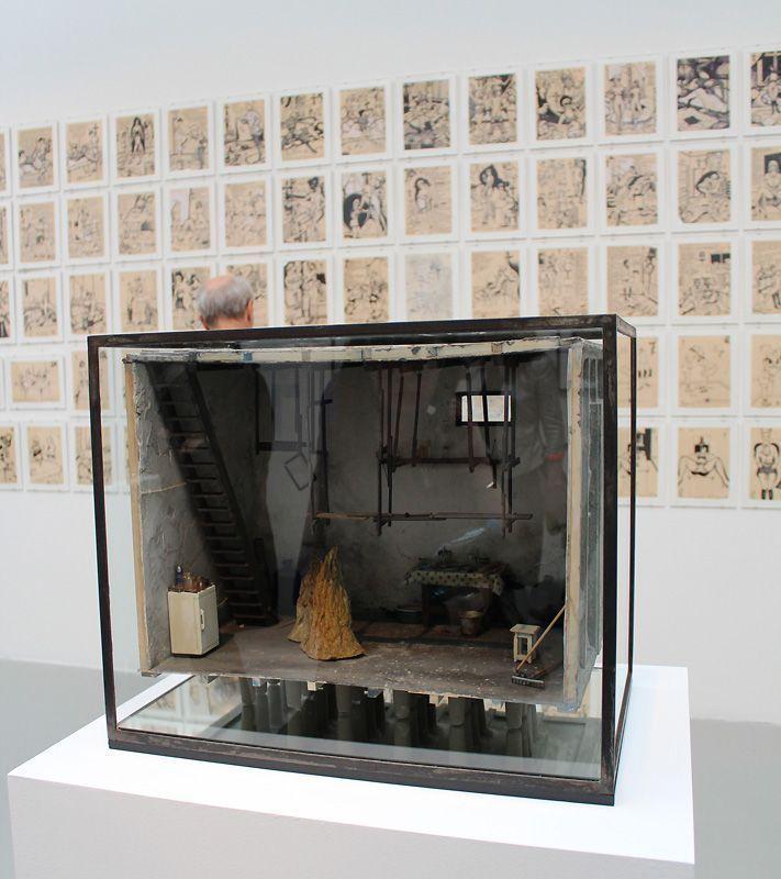Andra Ursuta (* 1979), T. Vladimirescu #5, 2013, Installationsfoto: Alexandra Matzner.