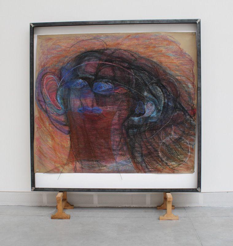 Marisa Merz (* 1931), Senza Titolo (o.T.), 1981-82, Installationsfoto: Alexandra Matzner.