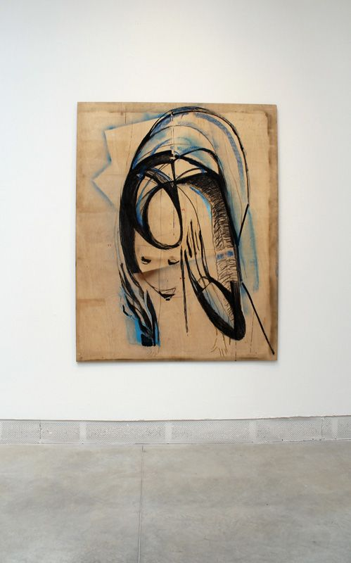 Marisa Merz (* 1931), Installationsfoto: Alexandra Matzner.