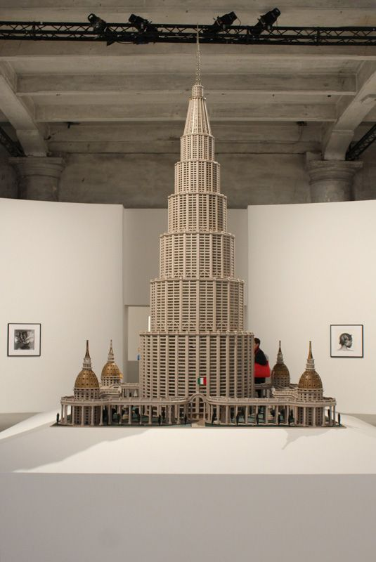Marino Auriti (1891-1980), Museums des Weltwissens, 1950er, American Folk Art Museum, New York, Installationsfoto: Alexandra Matzner.
