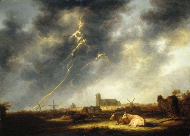 Landschaftsmalerei renaissance  Wetter in der holländischen Landschaftsmalerei