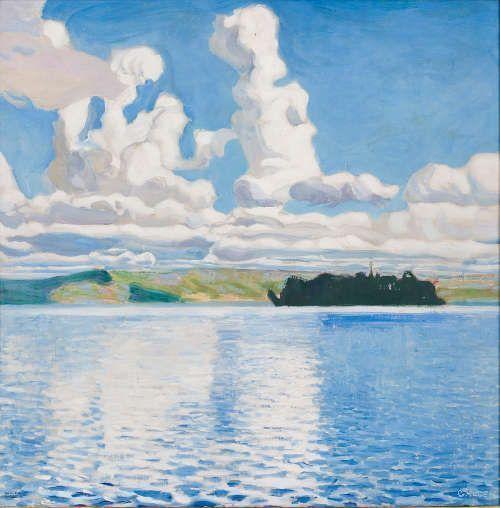 Akseli Gallen-Kallela, Wolken, 1904, Öl/Lw, 64 × 64 cm (© Didrichsen Art Museum, Helsinki)