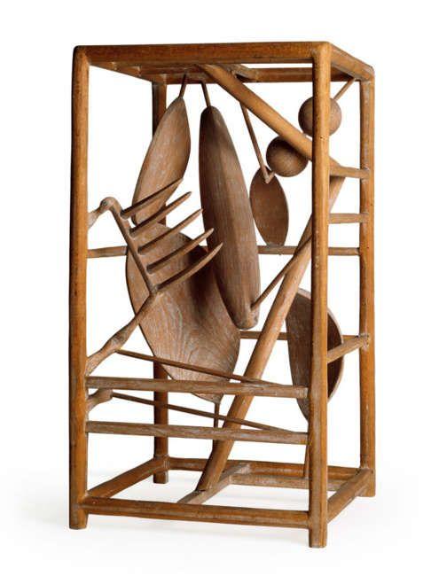 Alberto Giacometti, Cage [Käfig], 1930–1931 (Moderna Museet © Estate of Alberto Giacometti / VGB 2020, Foto: Prallan Allsten)