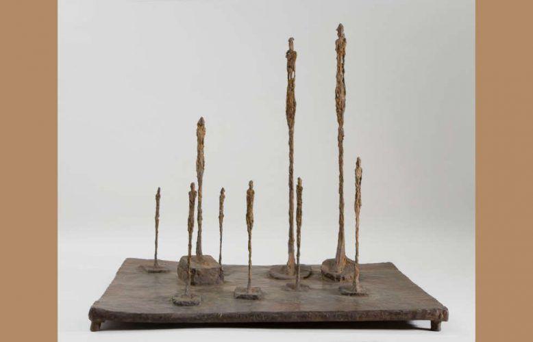 Alberto Giacometti, La Clairière, 1950 (Fondation Giacometti, Paris © Estate of Alberto Giacometti / VGB 2020)