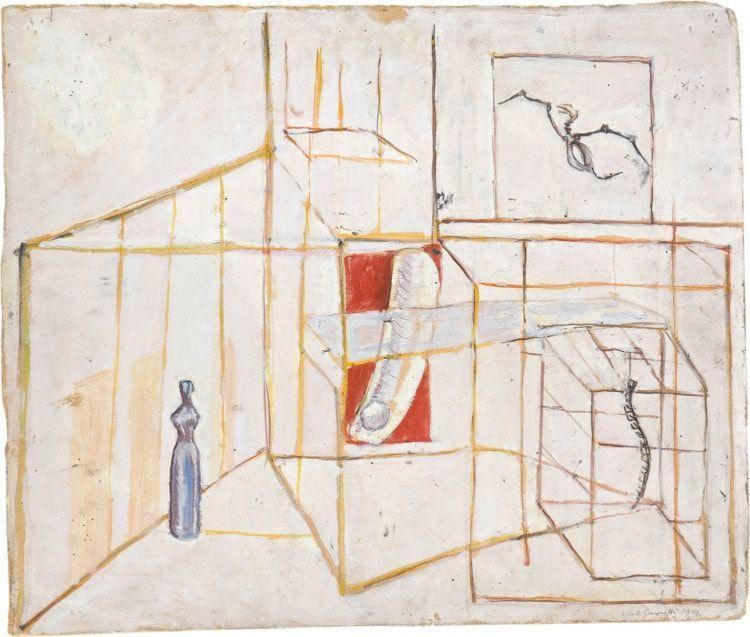 Alberto Giacometti, Le palais à 4 heures du matin, 1932 (Fondation Giacometti, Paris © Estate of Alberto Giacometti / VGB 2020)