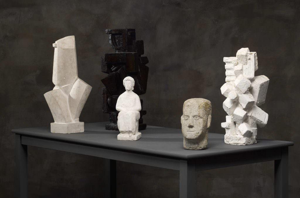 Alberto Giacometti, Werke 1925–1927 (Kunsthaus Zürich, Foto: Dominic Büttner © Succession Alberto Giacometti / 2016 ProLitteris, Zürich)