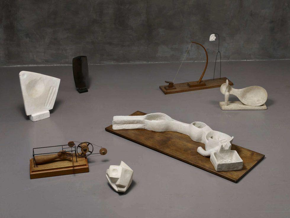 Alberto Giacometti, Werke 1928–1932 (Kunsthaus Zürich, Alberto Giacometti-Stiftung, Foto: Dominic Büttner, © Succession Alberto Giacometti / 2016 ProLitteris, Zürich)