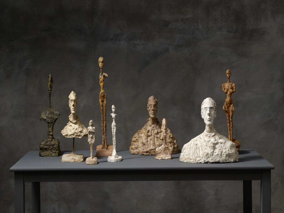 Alberto Giacometti, Werke 1949–1965 (Kunsthaus Zürich, Alberto Giacometti-Stiftung, Foto: Dominic Büttner © Succession Alberto Giacometti / 2016 ProLitteris, Zürich)