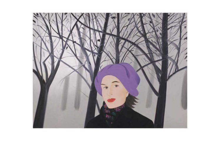 Alex Katz, January 4, 1992, Öl/Lw, 231,1 x 307,3 cm (Sammlung Thaddaeus Ropac , London • Paris • Salzburg, Foto: Ulrich Ghezzi © Alex Katz, VG Bild-Kunst, Bonn 2018)
