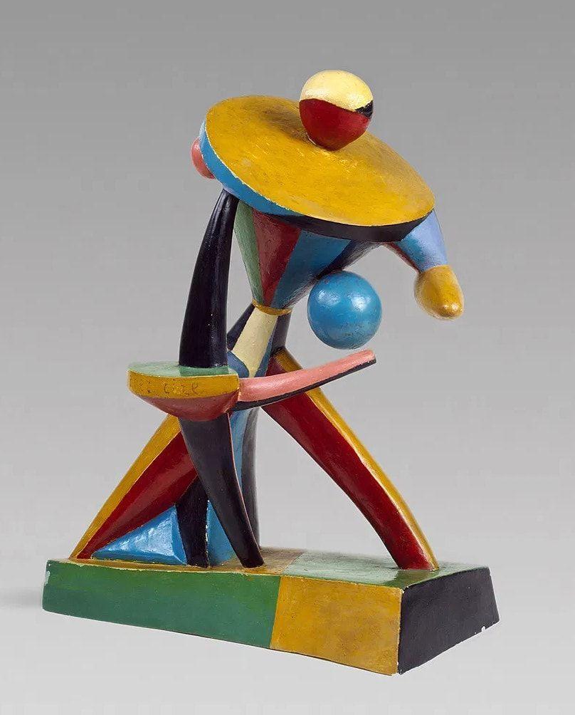 Alexander Archipenko, Carrousel Pierrot, 1913 (New York, Guggenheim Museum)