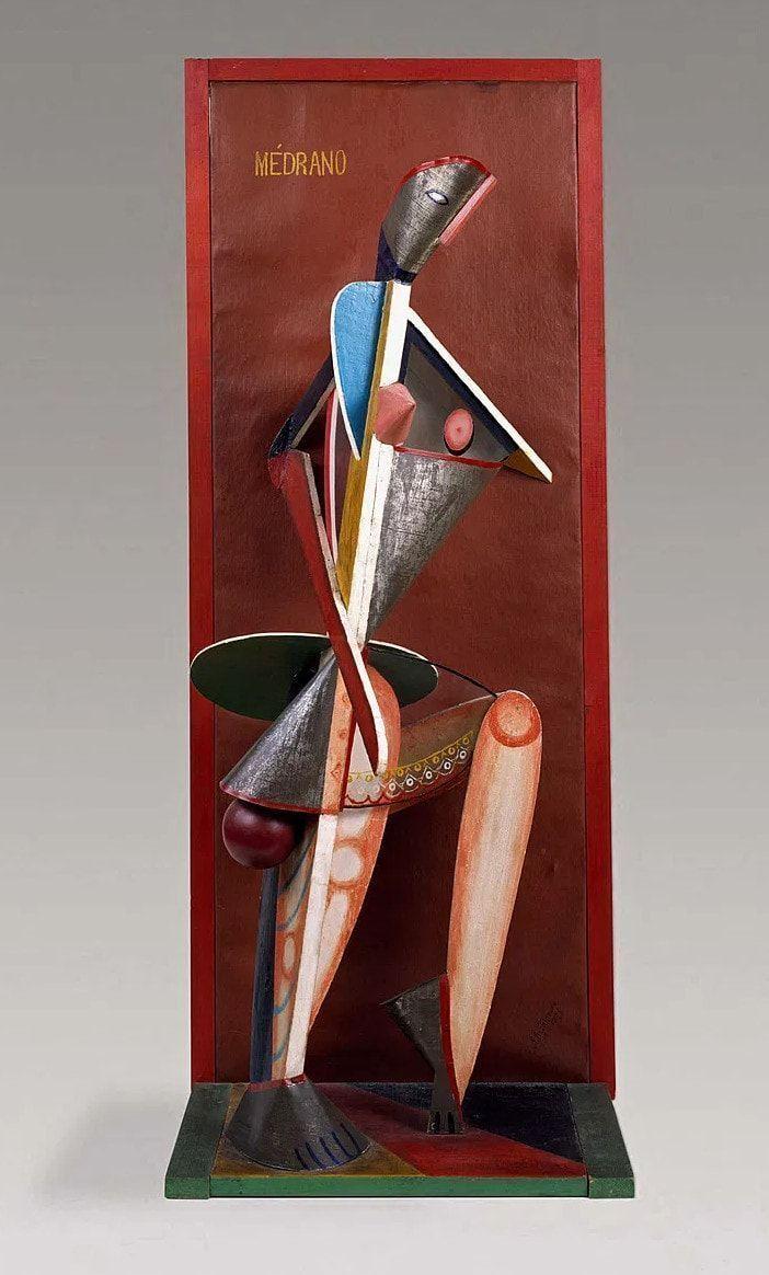 Alexander Archipenko, Medrano II, 1912 (New York, Guggenheim Museum)