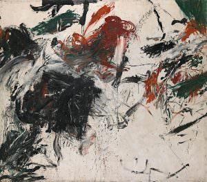 Alfons Schilling, Ohne Titel, 1960, Dispersion auf Leinwand, 240 x 281 cm (Foto: Mischa Nawrata, Wien © Albertina, Wien: Sammlung Essl)