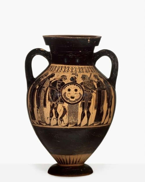 Amphora des Phrynos-Malers, um 550/540 v.u.Z. (© Antikensammlung Basel und Sammlung Ludwig)