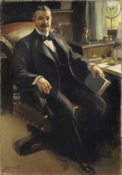 Anders Zorn, Henry Clay Pierce, Öl/Lw, 152 x 107 cm (Nationalmuseum, Stockholm)