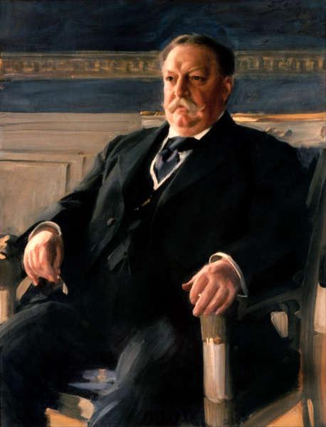 Anders Zorn, William Howard Taft, 1911, Öl/Lw, 117,8 x 89,2 cm (White House, Washington, DC)