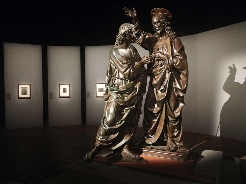 Andrea del Verrocchio, Der ungbäuige Thomas im Louvre 2019, Foto: ARTinWORDS