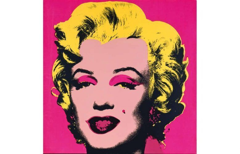 Andy Warhol, Marilyn, 1967, Farbsiebdruck aus dem 10teiligen Portfolio, © 2019 The Andy Warhol Foundation for the Visual Arts, Inc. / Artists Rights Society (ARS), New York, Staatliche Museen zu Berlin, Kupferstichkabinett / Jörg P. Anders