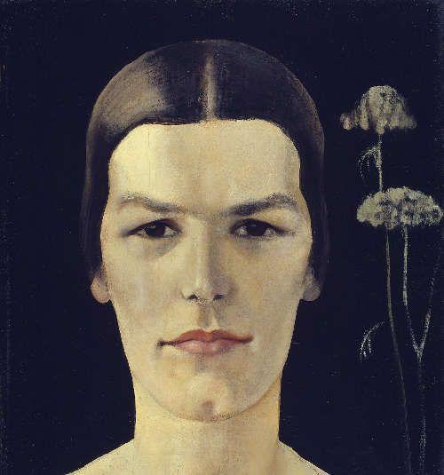 Anita Rée, Hildegard Heise, um 1928, Öl auf Leinwand, 40,5 x 35,5 cm (© Hamburger Kunsthalle / bpk, Foto: Elke Walford)