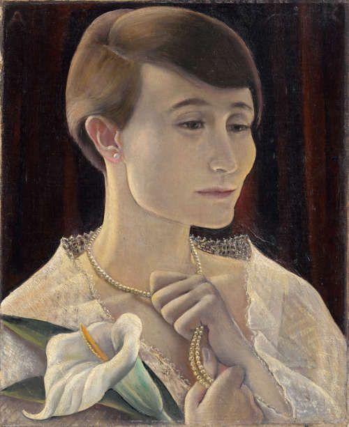 Anita Rée, Bildnis Hilde Zoepffel, um 1928, Öl/Lw, 50 x 41,5 cm (Privatbesitz, Foto: Christoph Irrgang)