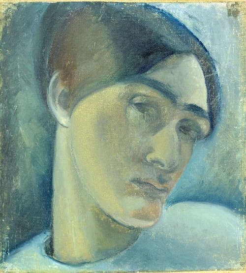Anita Rée, Selbstbildnis, 1915, Öl/Lw (© Hamburger Kunsthalle / bpk, Foto: Christoph Irrgang)