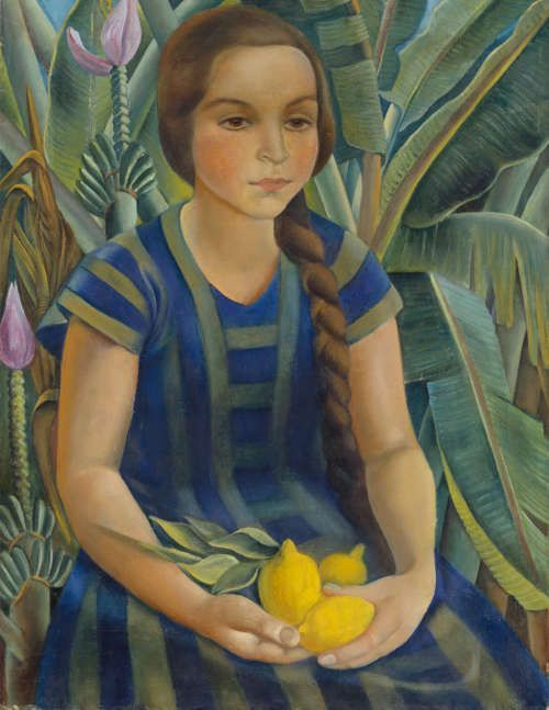 Anita Rée, Teresina, 1922–1925, Öl/Lw, 80,5 x 60 cm (© Hamburger Kunsthalle / bpk, Foto: Elke Walford)
