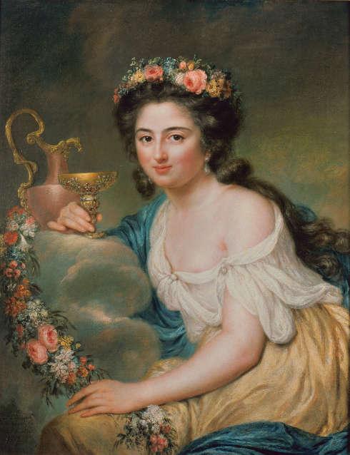 Anna Dorothea Therbusch, Porträt der Henriette Herz, 1778 (© Staatliche Museen zu Berlin, Nationalgalerie Andres Kilger)