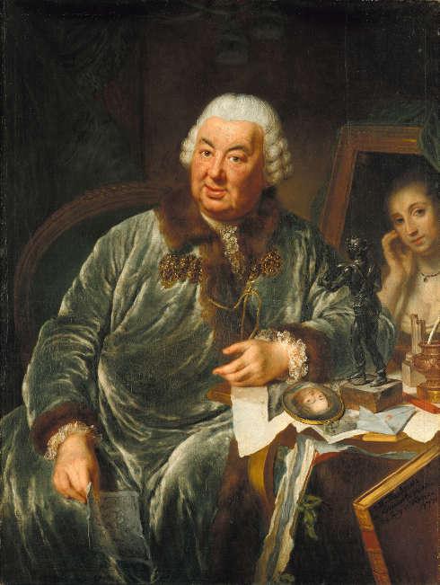Anna Dorothea Therbusch, Johann Julius von Vieth und Golßenau, 1771 (© Staatliche Museen zu Berlin, Gemäldegalerie Jörg P. Anders)