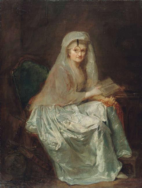 Anna Dorothea Therbusch, Selbstbildnis, um 1782 (© Staatliche Museen zu Berlin, Gemäldegalerie Jörg P. Anders)