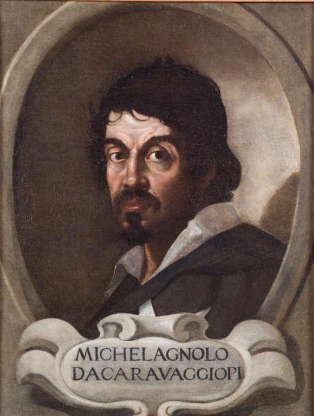 Anonym, Porträt von Michelangelo Merisi da Caravaggio, um 1600, Öl/Lw, 59 x 46,5 cm (Accademia Nazionale di San Luca, Rom © Courtesy of Accademia Nazionale di San Luca, Roma)