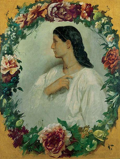 Anselm Feuerbach, Nanna, um 1861 (Von der Heydt-Museum Wuppertal © Von der Heydt-Museum Wuppertal)