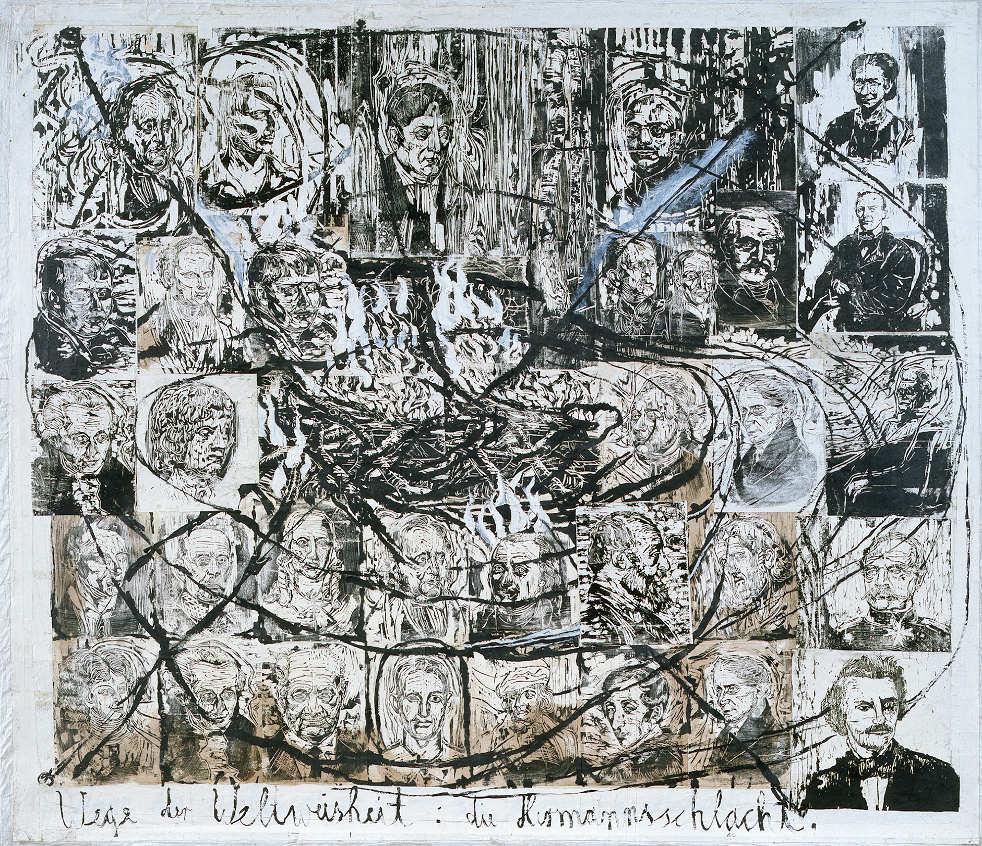 Anselm Kiefer, Wege der Weltweisheit: Die Hermannsschlacht, 1993 (Albertina, Wien - Dauerleihgabe der Österreichischen Ludwig-Stiftung für Kunst und Wissenschaft; © Anselm Kiefer und Albertina, Wien)