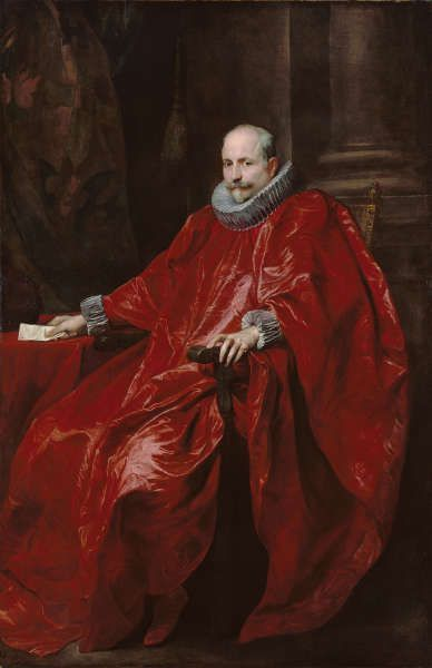 Anthonis van Dyck, Agostino Pallavicini, um 1621, Öl/Lw, 216.2 x 141 cm (The J. Paul Getty Museum, Los Angeles Digital image courtesy of the Getty's Open Content Program)