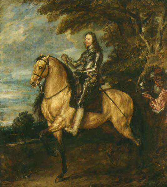 Anthonis van Dyck, Karl I zu Pferd, um 1637/38, Öl/Lw, 367 x 292.1 cm (The National Gallery, London, Inv. NG1172)