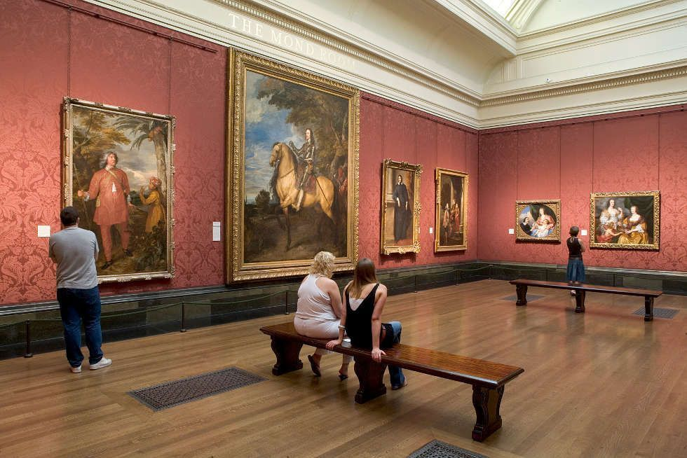 Anthonis van Dyck, Einblick in die National Gallery of Art, London © National Gallery, London