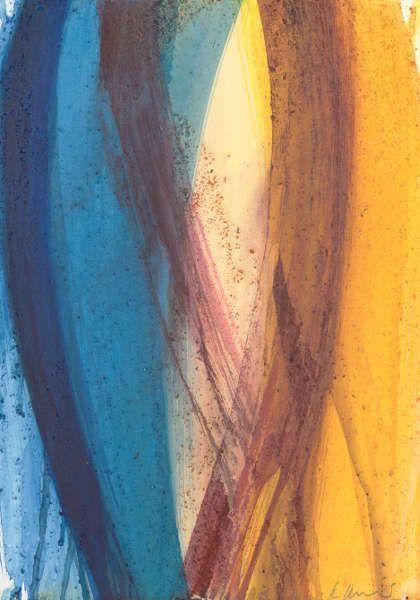Arnulf Rainer, Ohne Titel, 2013–2015, Acryl auf Papier (Albertina, Wien © Arnulf Rainer)