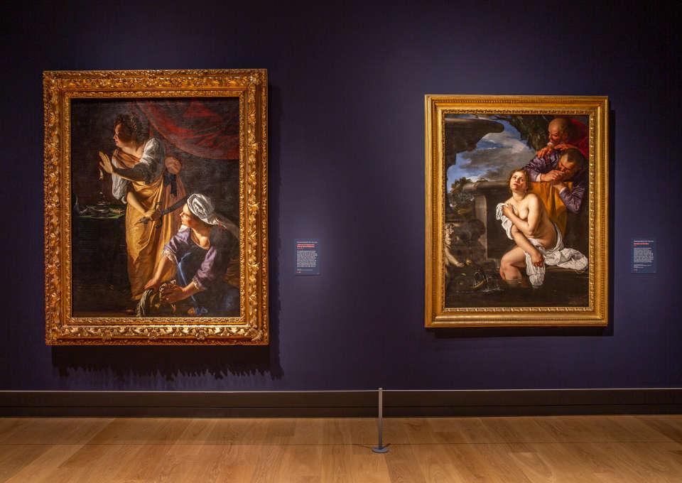 Artemisia Gentileschi, Judith und Susanna, The National Gallery, London 2020